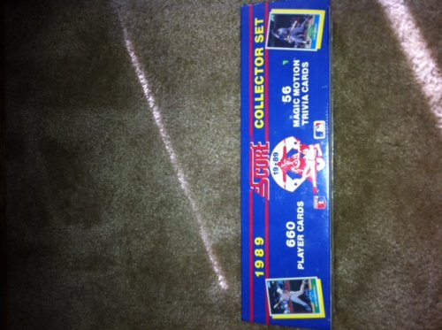 Score 1989 Baseball Card Factory (New York Mets Playing Card)