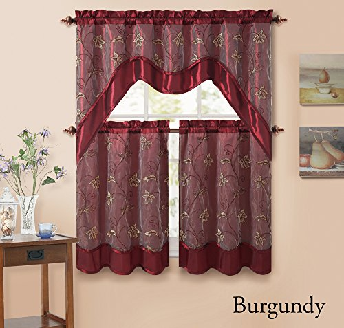 Kitchen Christmas Curtains Amazon Com