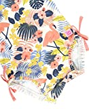 RuffleButts Baby/Toddler Girls Tropical Flamingo