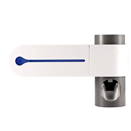 Houkiper Esterilizador de Cepillo de Dientes, USB Powered Antibacterias UV Travel Cepillo de Dientes automático