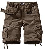 Match Men's Comfort Cargo Short (Label size S/29 (US 28) 3056 Dark khaki)