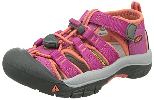 KEEN Little Kid (4-8 Years) Newport H2 Very Berry/Fusion Coral Sandal - 1 M US Little Kid