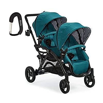 2017 Contours Option Elite Tandem Double Stroller with FREE BABY GEAR XPO Stroller Hook by Contours that we recomend personally.