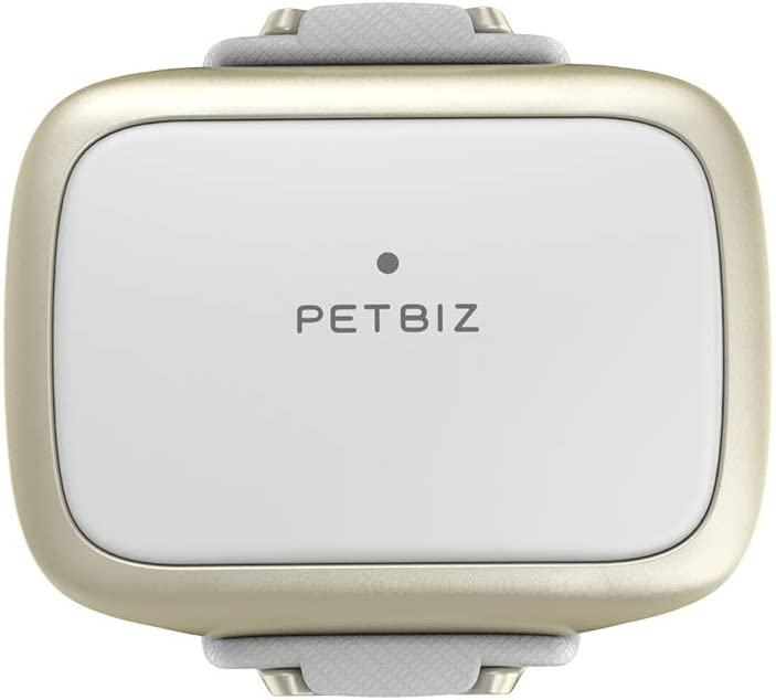 PETBIZ GPS Pet Tracker, Real-Time Dog Locater & Activity Monitor, 30 Days Ultra Long-Lasting Battery Lightweight Waterproof Dog Finder