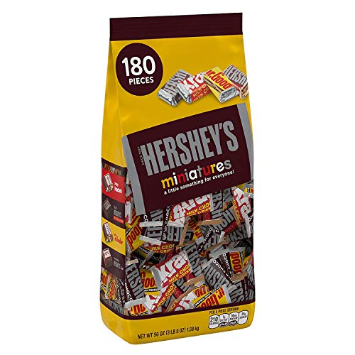 Hershey's Miniatures Assortment, 56-Ounce Bag (Original Version)