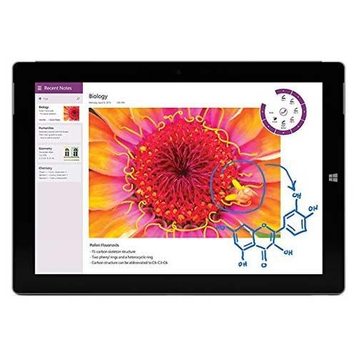 Microsoft Surface 3 (7g5-00001) Intel atom 1.6GHz, 2GB Ram, 64GB Storage – Silver (Certified Refurbished)