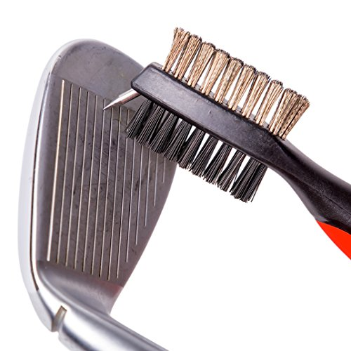 how to clean golf irons with milk