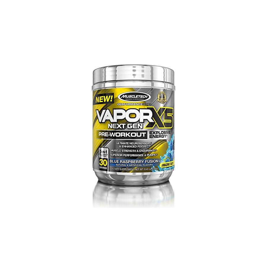 MuscleTech Performance Series Vapor X5 Next Gen Pre Workout Powder