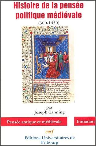 Livres gratuits Histoire de la pensée politique médiévale pdf epub