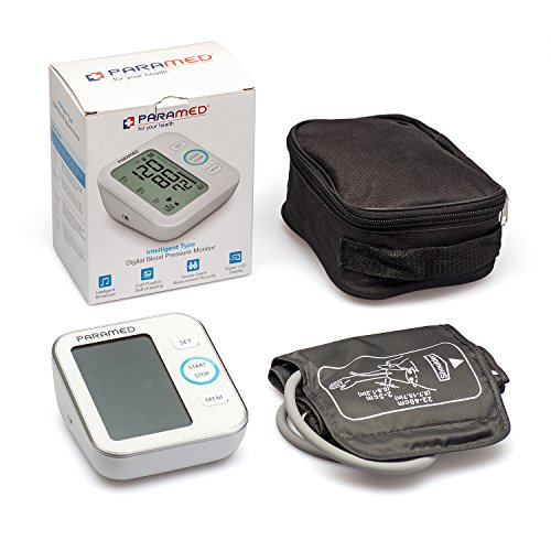 PARAMED Automatic Upper Arm BP and Pulse Monitor