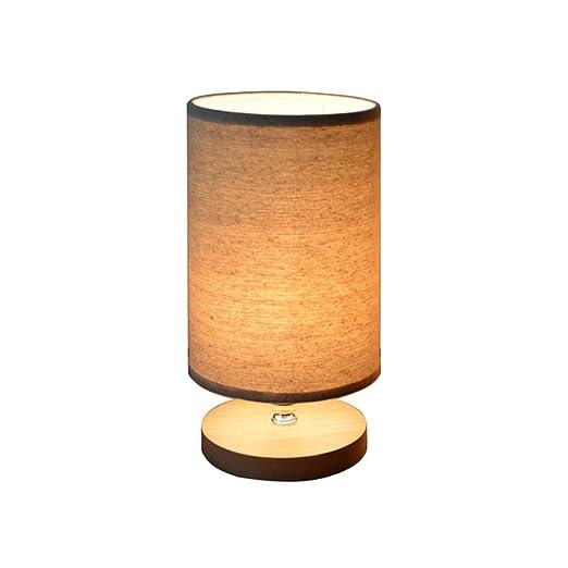 Amazon.com: julitech lámpara de mesa de noche E27 estilo ...