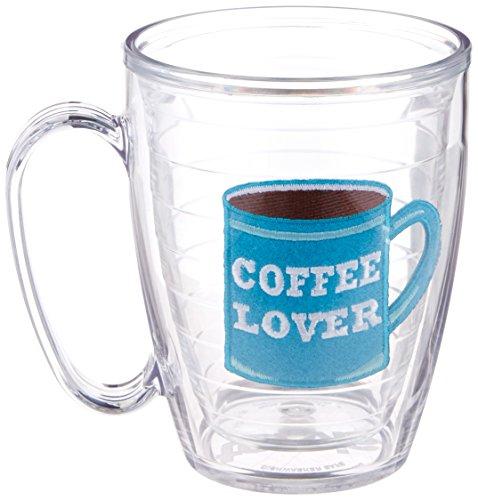 Tervis Tumbler/Mug, 15-Ounce, I Love Coffee (Felt 15 Ounce Mug)
