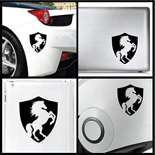 "3.5/"" Tesla Motors Logo Shield Window Vinyl Car Decal Sticker Pick a Color"