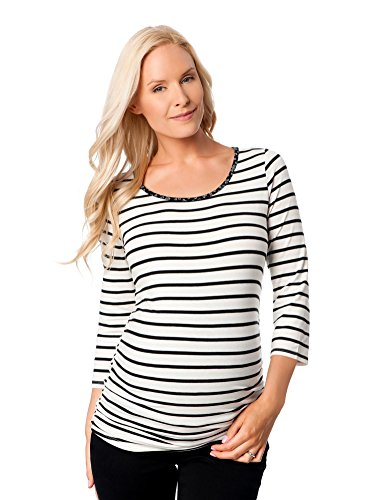 Motherhood Striped Side Ruched Maternity product image
