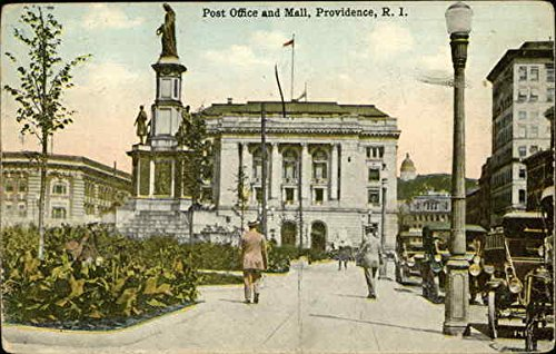 Post Office and Mall Providence, Rhode Island Original Vintage - Island Providence Mall Rhode