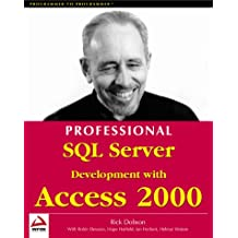 Professional SQL Server Develoopment with Access 2000