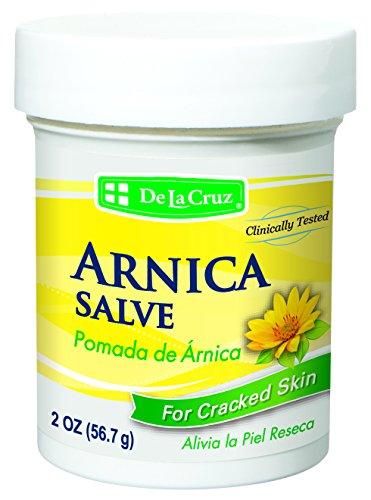 De La Cruz Arnica Salve for Cracked Skin/No Preservatives, Colors or  Fragrances/Allergy Tested/Made in USA 2 OZ