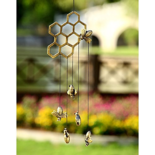 Bees & Comb Windchime, cute bee gift