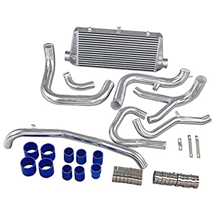 Amazon.com: CXRacing Intercooler Piping Kit For Mitsubishi 3000 GT VR-4 & Dodge Stealth TT: Automotive