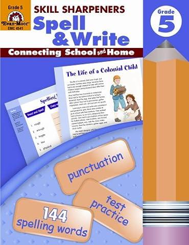 Skill Sharpeners Spell & Write, Grade 5 (Language Of Spells)
