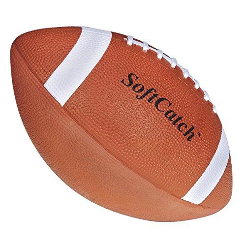 S&S Worldwide Spectrum SoftCatch Rubber Football-YOUTH (Rubber Football Spectrum)