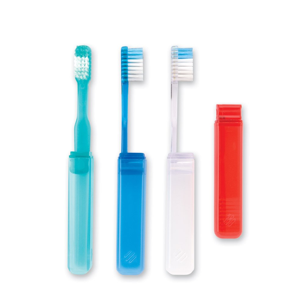 Oraline V-Trim Economy Travel Toothbrushes - 144 per Pack by SmileMakers