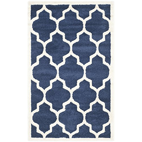 vibrant ideas royal blue area rug. Safavieh Amherst Collection AMT420P Navy and Beige Indoor  Outdoor Area Rug 3 x 5 In Blue Amazon com