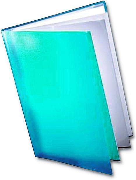60 tasche Ecoeco eco020 x 2 50/% riciclata confezione da 2 Cartellina per presentazioni colore nero formato A4 con custodia in plastica