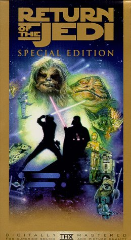 Star Wars, Episode VI: Return of the Jedi (Special Edition) [VHS] (Star Wars Return Of The Jedi Vhs)