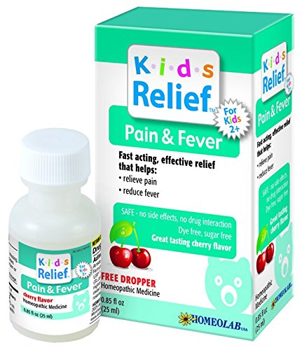 Homeolab Usa Pain & Fever Relief Kids - Homeolab Kids Relief Remedies