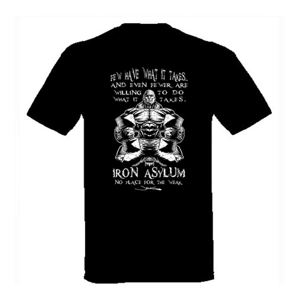 Iron Asylum T-shirt Few have what it takes 5X-Large