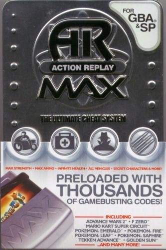 Nintendo Datel Gameboy Advance GBA & SP Action Replay Max