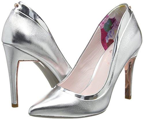 Silver toe Pumps Sayu Women''s Ted silver Closed Baker fqxB6wa8