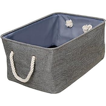 Fabric Storage Bins (Set Of 2) | Perfect For Toys Towels Hats  sc 1 st  Amazon.com & Amazon.com: Fabric Storage Bins (Set Of 2) | Perfect For Toys ...