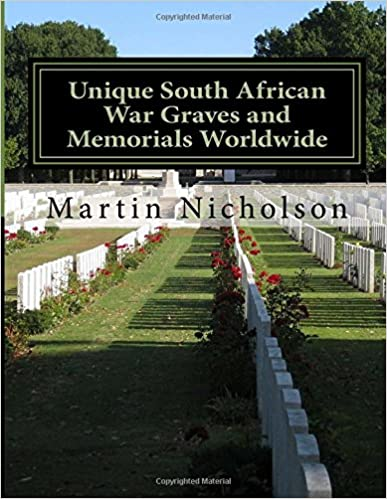Book Unique South African War Graves and Memorials Worldwide