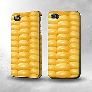 Apple iPhone 4 / 4S Case - The Best 3D Full Wrap iPhone Case - Sweet Corn Kimberly Kurzendoerfer
