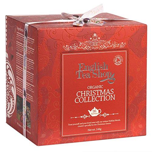 English Tea Shop Christmas Collection Chamber Poly Sachet, Red Single, 144 Gram