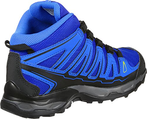 EU Bleu Gree Bleu Bright Mid Yonder 36 Chaussures Mixte de Blue GTX Granny Salomon X 000 Enfant J Randonnée Ultra Blue Basses 6qRg4O
