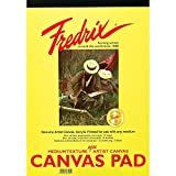 Fredrix 3495 Canvas Pads, 8 by 10-Inch
