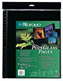 Itoya Art Profolio 16'' x 20'' Crystal Clear PolyGlass Pages, 10 Pages Per Pack
