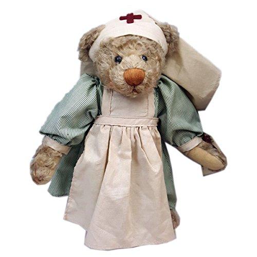 "Ganz Vintage Cottage Collectibles Ms. Nightingale Nurse Bear Doll 12"" from Ganz"