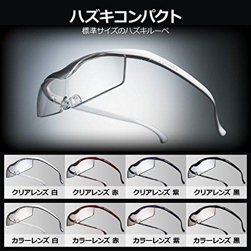 Hazuki Loupe Magnifier Compact Clear Lens 1.6 X Blue Light 35% Cut (Black) by Hazuki (Image #2)