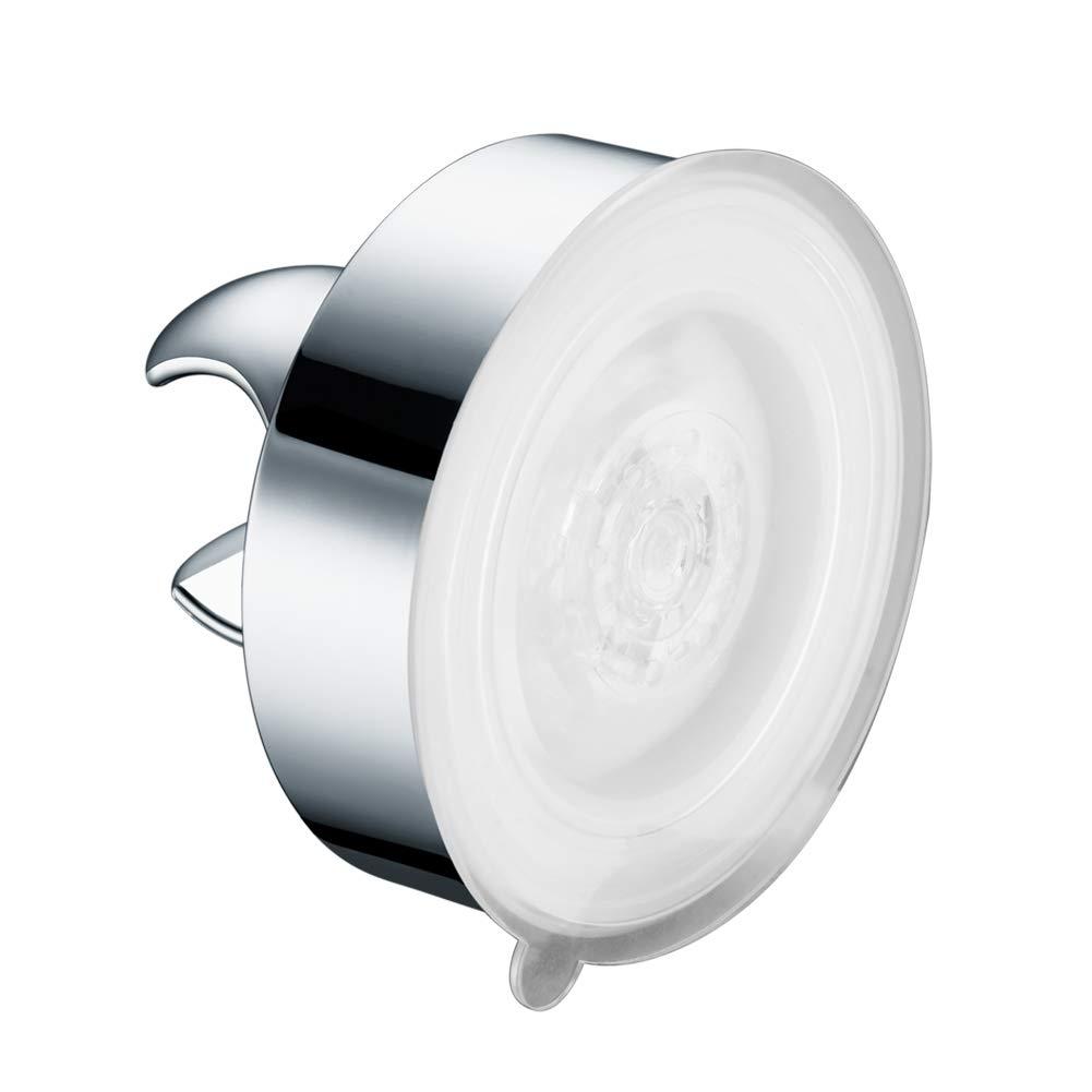 AquaKin Suction Cup Shower Head Holder,Handheld Showerhead Bracket for Bathroom,Tub-2pack