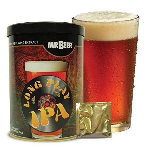 Mr. Beer Long Play IPA Homebrewing Craft Beer Refill Kit (Beer Refill Kit)
