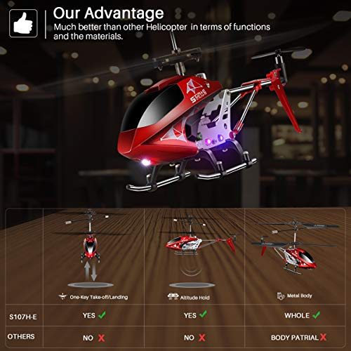 Remote Control Helicopter, S107H Aircraft with Altitude Hold, One Key take Off/Landing, 3.5 Channel, - http://coolthings.us
