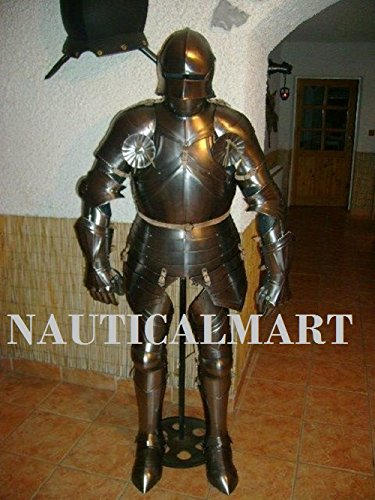 (NAUTICALMART LARP SCA Halloween Adult Costume 15th Century Medieval Suit of)