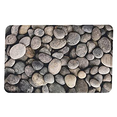 "Michael Anthony Furniture Premium Anti-fatigue Memory Foam Kitchen Comfort Mat River Rocks (18"" X 30"")"