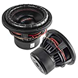 American Bass XFL-1222 12' Subwoofers Dual 2 Ohm 2000 Watts Max Car Audio 2 Pack