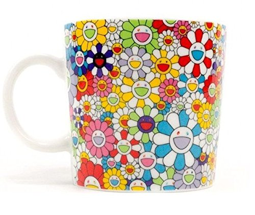 TAKASHI MURAKAMI Coffee Tea Mug Cup Flower Ohana kaikaikiki Limited Exclusive