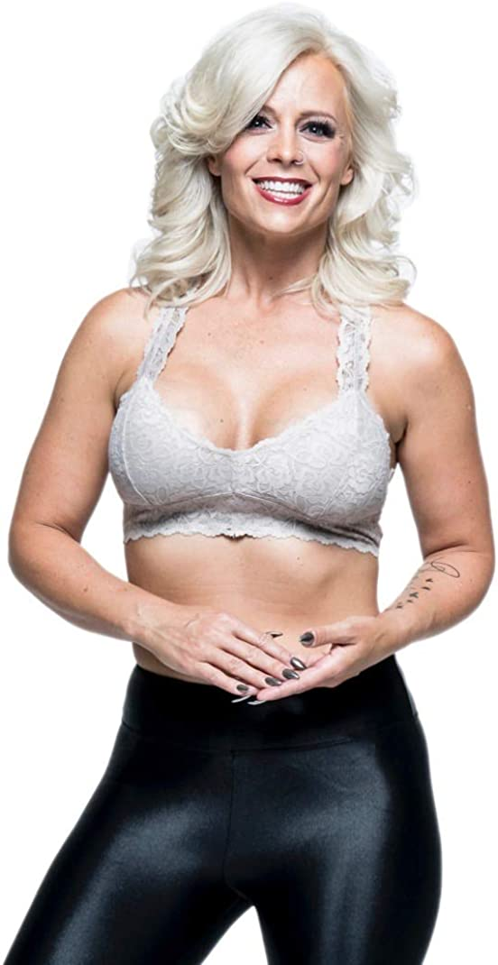 Kick Fear in the Face Womens Lace Bralette
